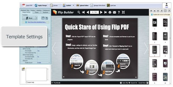 5+ Powerful jQuery Flipbook Plugins Makers Free Download